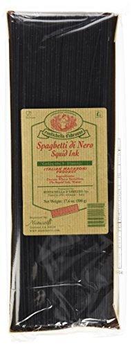 Rustichella D' Abruzzo Durum Wheat Squid Ink Spaghetti Di Nero Pasta