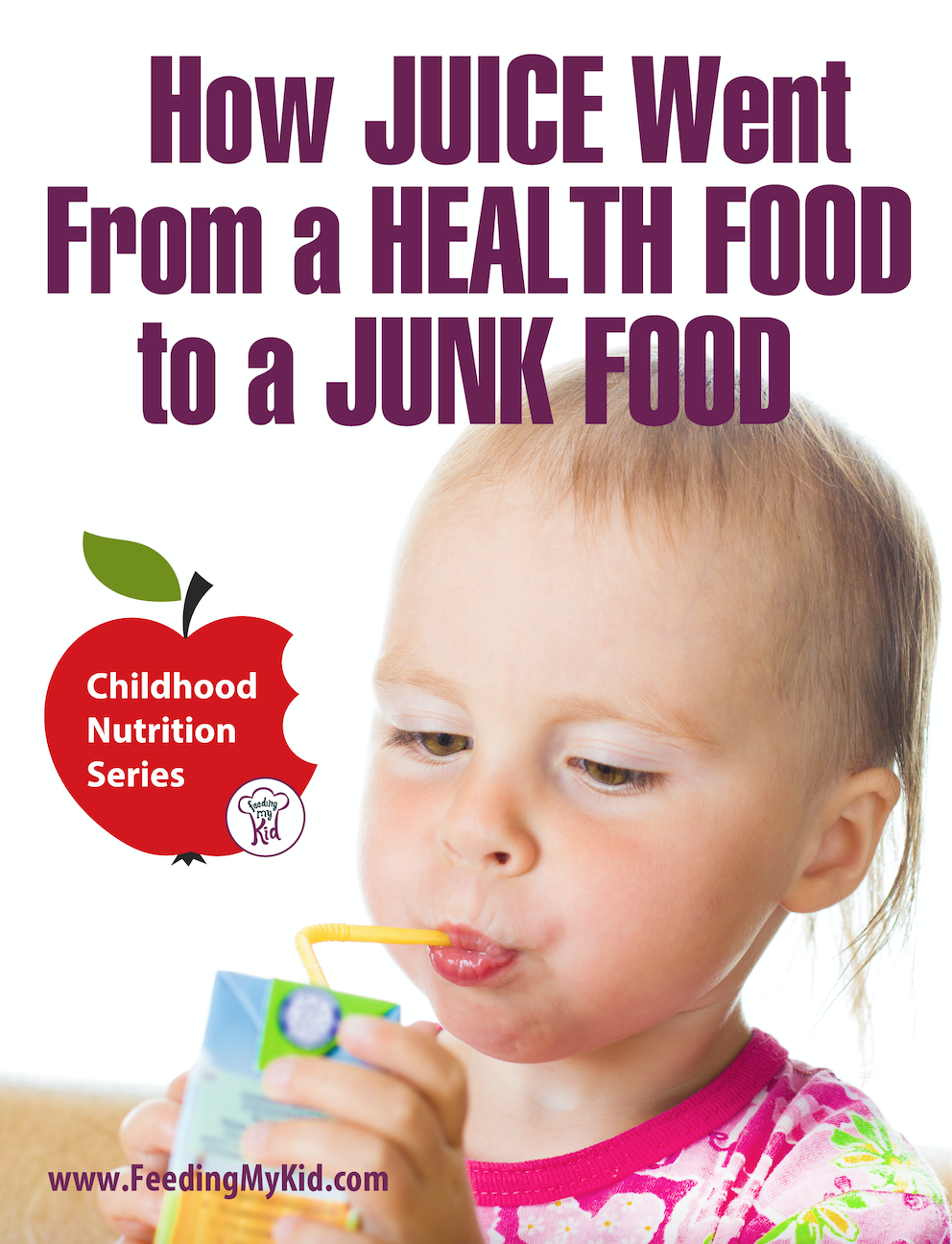 How Juice Went From A Health Food To A Junk Food - Juice manufactures have done an amazing job at positioning fruit juice as a healthy drink for kids and adults. And why wouldn't it be? It's 100% fruit juice. It's all natural. And, we know fruit is healthy. But is it really?