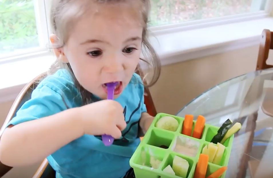 Use Nibble Trays to Help With Picky Eating