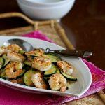 Shrimp And Zucchini Stir Fry Recipe With Miso Lime Sauce
