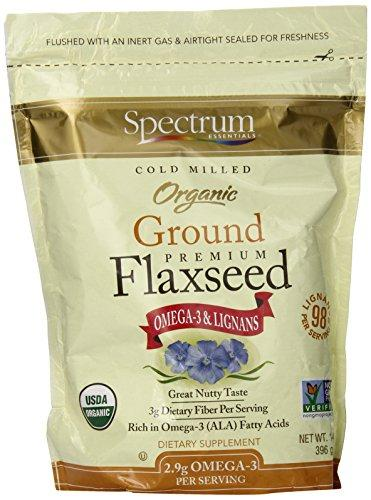 Spectrum Essential Flaxseed Organic Grnd Essential 14 Oz