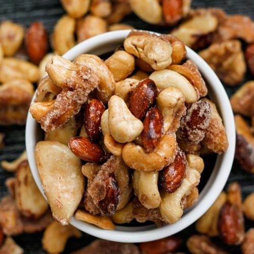 ugar Free Caramelised Nuts