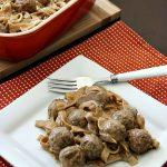 Swedish Meatball Casserole Recipe