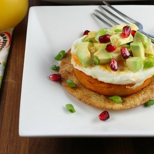 Sweet Potato Breakfast Tastadas