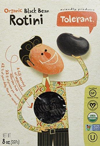 Tolerant Organic Non-GMO (BLACK BEAN) Rotini