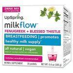 UpSpring Baby Milkflow Fenugreek Blessed Thistle Drink Mix