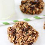 Zucchini Applesauce Oatmeal Cookies