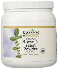 100% Pure Brewer's Yeast Powder Gmo-Free 16 oz (454 grams) Pwdr