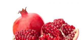 Pomegranate New Years Eve Food