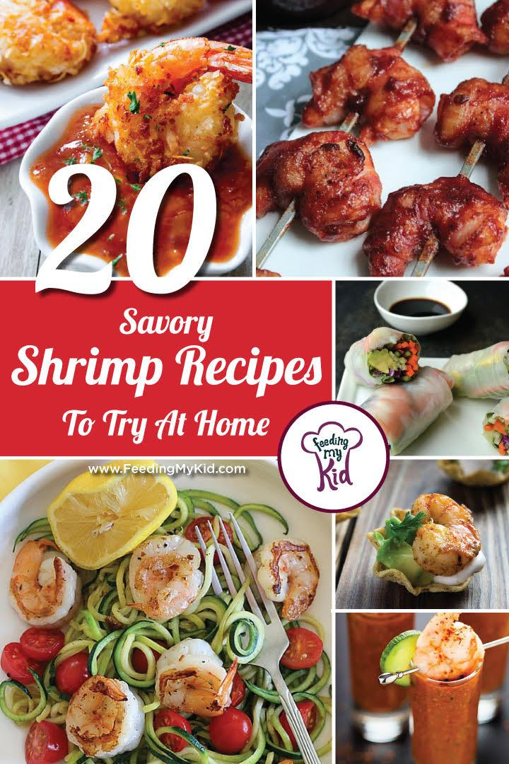 This is a must pin. These shrimp recipes are great and will make the perfect meal for any occasion. Feeding My Kid is a great website for parents, filled with all the information you need about how to raise your kids, from healthy tips to nutritious recipes. #shrimp #recipes #mealtime #themenight