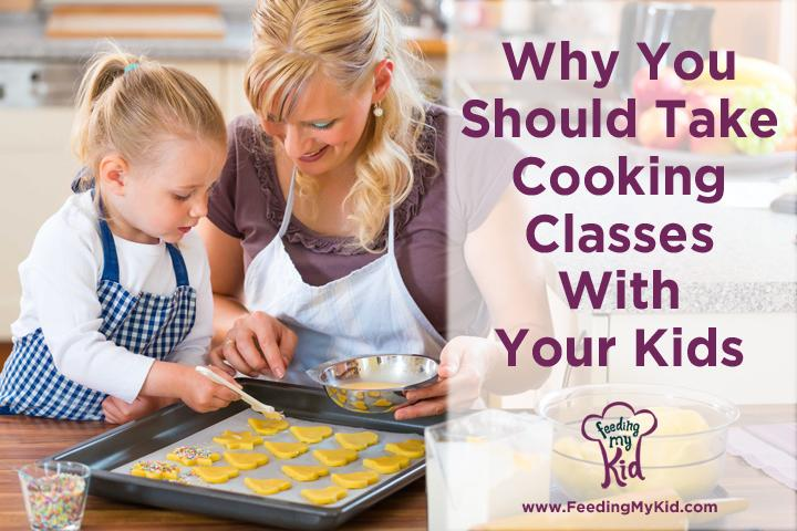 Find out why all parents should be teaching their kids to cook. And, if you're not a great cook yourself or don't have a lot of extra time, find out why you should take Cooking Classes With Your Kids which helps you foster stronger bonds with your kids, teaches life-skills, and helps kids develop a healthy relationship with food.