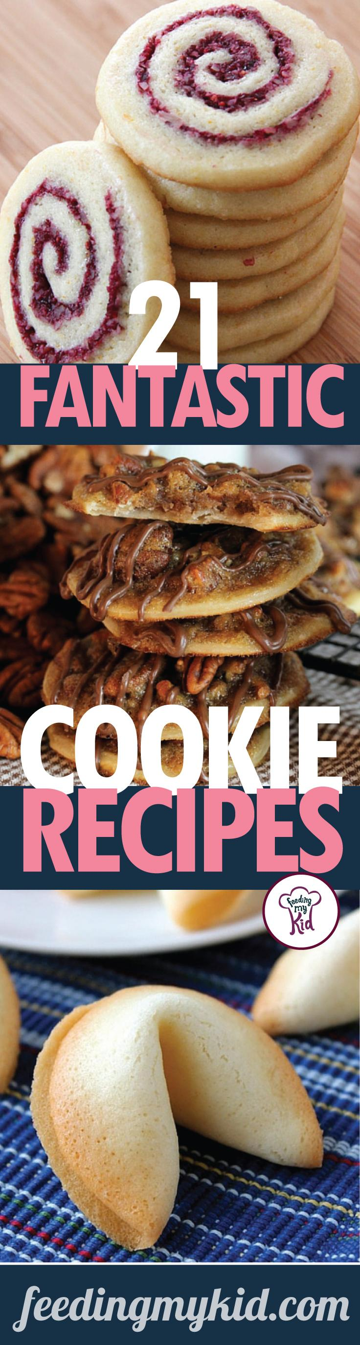 21 Fantastic Cookie Recipes short - Homemade cookie recipes sweeten up our lives in more ways than one! Give these tasty treats a try!