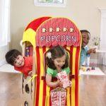 Playhouse Kits: Popcorn Stand/Puppet Show – Learning Tower Add-On – To Be Used with The Original Learning Tower – Learning Tower Sold Separately