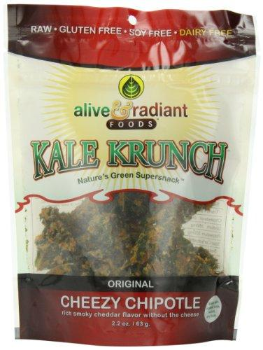 Alive And Radiant, Kale Krunch, Cheezy Chipotle, 2.2 Ounce