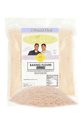 Amaranth Flour by Gerbs - 2 LBS