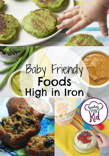 We've put together this comprehensive list of foods high in iron just for your little one. These recipes are a great way to get iron in your child's diet.