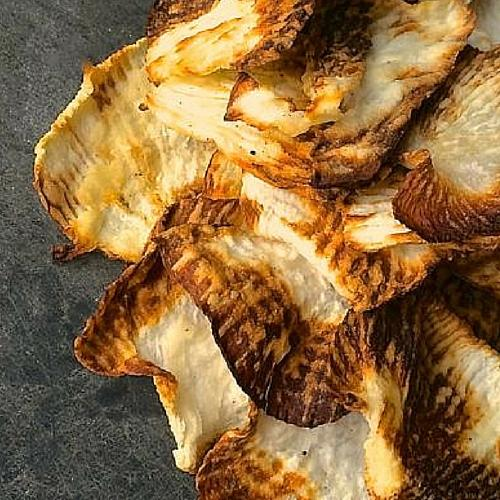 Baked Turnip Chips