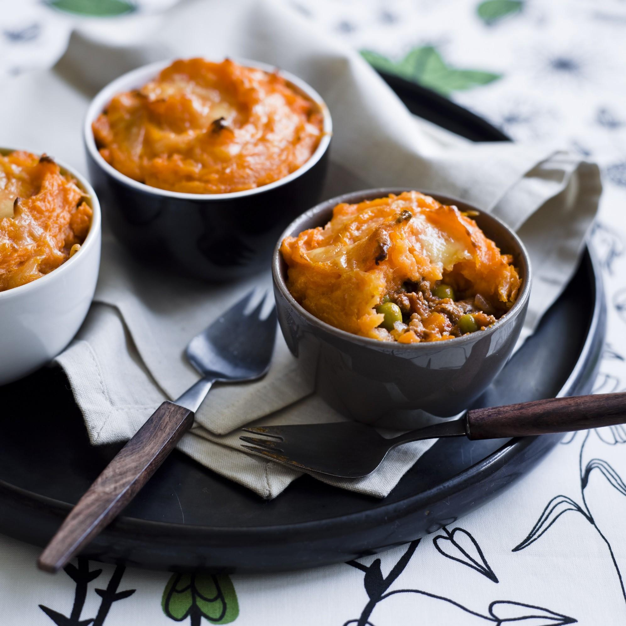 Beef And Sweet Potato Cottage Pies