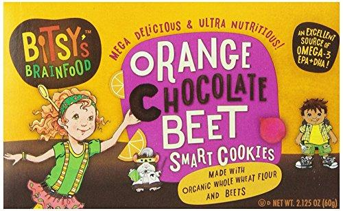 Bitsy's Brainfood Smart Snacks, Orange Chocolate Beet, 2.125 Ounce (Pack of 12)