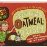Bitsy's Brainfood Smart Snacks, Sweet Potato Oatmeal Raisin, 2.125 Ounce (Pack of 12)
