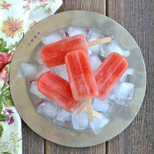 Citrus Watermelon Popsicle