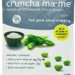 Cruncha ma-me Edamame Veggie Snack, Lightly Seasoned, 0.7 Ounce Pouches (Pack of 8)