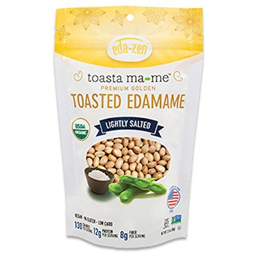 Cruncha ma-me Organic Toasted Edamame Snacks, Lightly Salted, 3.5 Ounce (Pack of 6)
