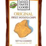 Food Should Taste Good Chips, Kettle Sweet Potato, 4.5 Ounce (Pack of 12)