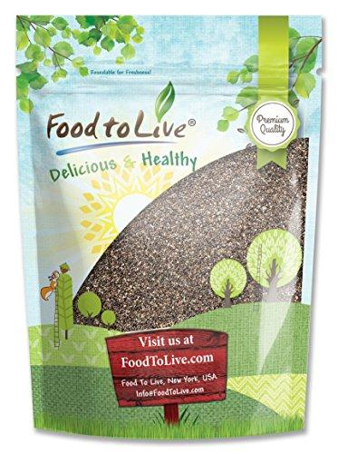 Food To Live Chia Seeds (8 Ounces)