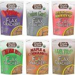 Foods Alive Flax Cracker Variety Pack