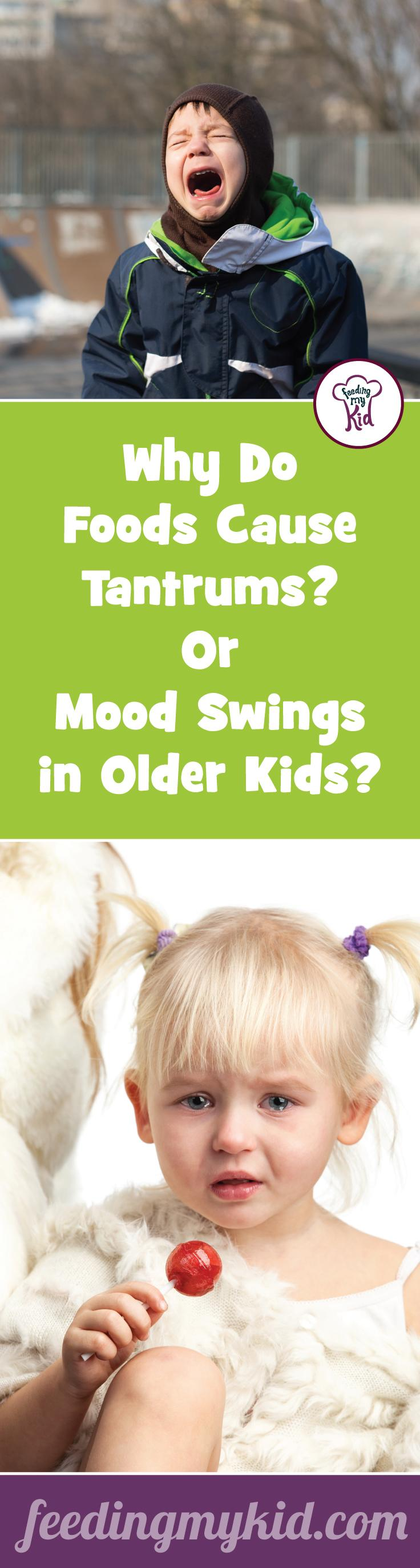 Did you know certain foods can cause tantrums in some kids? Check out this article to find out what foods you should avoid feeding your child. More important find out what foods you should be feeding your child to stabilize his or her mood and supercharge your child's creativity and concentration. Also, find out which food additives are making children behave poorly.