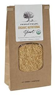 From The Fields Organic Nutritional Yeast Flakes, 5.5 Ounce