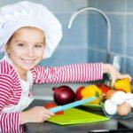 Girl-Prepping-Food