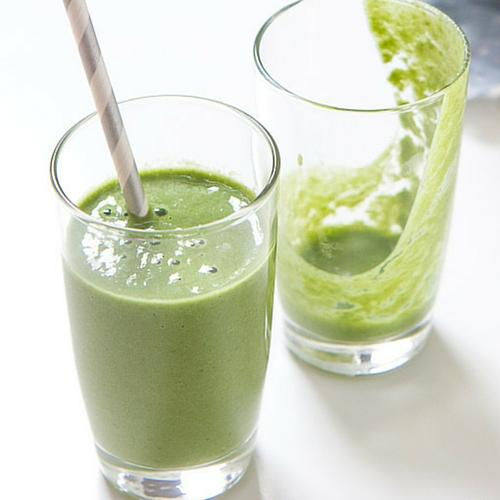 Green Toddler Smoothie
