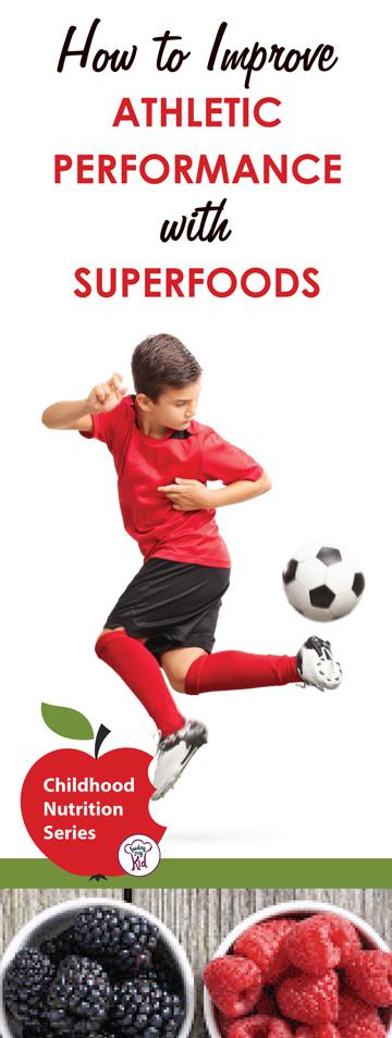 How to Improve Athletic Performance with Superfoods - There are plenty of healthy foods your children can eat that can boost their energy levels and give them that extra kick they need to kick the ball and win the game. These foods are called superfoods!