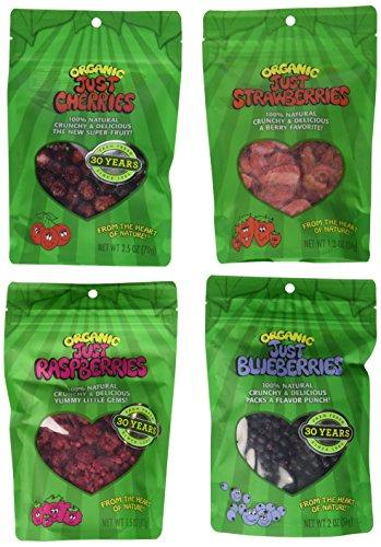 Just Tomatoes Organic Just Berries Variety Pack (Pack of 6)