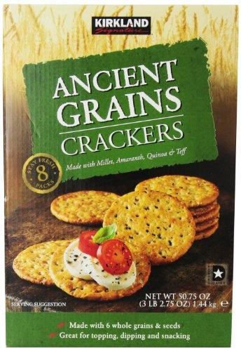 Kirkland Signature Ancient Grain Crackers, 50.75 Ounce