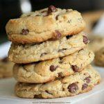 Milk Chocolate Chip Peanut Butter Cookies