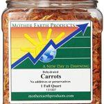 Mother Earth Products Dried Carrots, 1 Full Quart