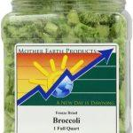 Mother Earth Products Freeze Dried Broccoli, 1 Full Quart
