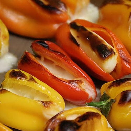 Mozzarella Stuffed Peppers