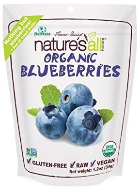 Nature's All Foods Freeze-Dried Blueberries, 1.2 Ounce