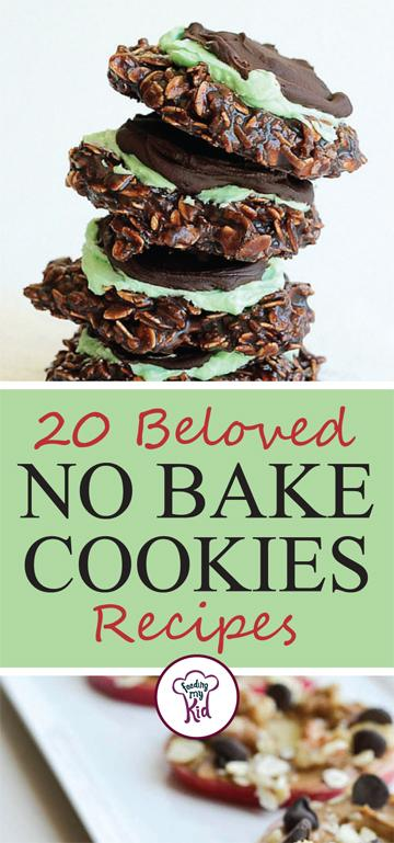 20 Beloved No Bake Cookies Recipes - Our love for cookies comes from childhood. Between the classic cooking days with grandma and the early days of watching Sesame Street with the widely idolized Cookie Monster; we have no chance in ending our own children's passion for cookies, let alone our own. This batch of no bake cookies recipes are a quick and easy way to soothe that sweet tooth.