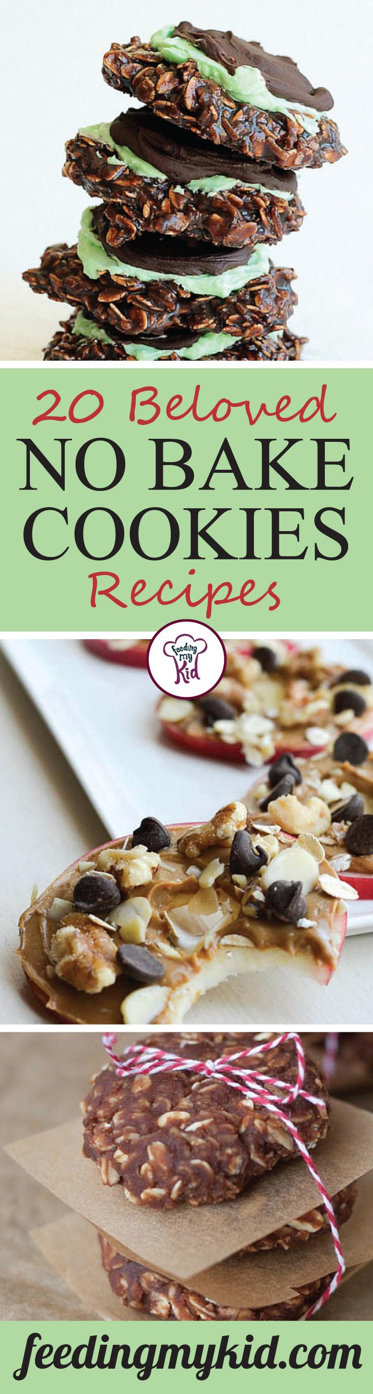 20 Beloved No Bake Cookies Recipes - This batch of no bake cookies recipes are a quick and easy way to soothe that sweet tooth. With Mexican Chocolate, Minty Fudge, and Strawberry Milk no bake cookies, you'll be sure to put a smile on your picky eater's face as well as your own!