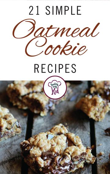 21 Simple Oatmeal Cookie Recipes - These recipes were handpicked. From strawberry cookies to peanut butter oatmeal cookies; these are the perfect treats to bring to a party or just to make at home as a dessert after dinner. Give them a go!