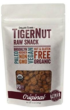 Organic Raw Tigernuts, 5 oz