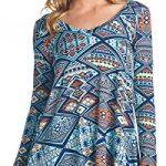 Popana Print Tunic Top – Made In USA