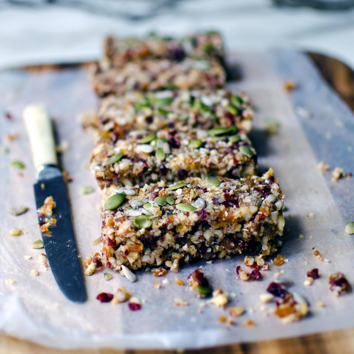 Quinoa, Fruit And Nut Bars