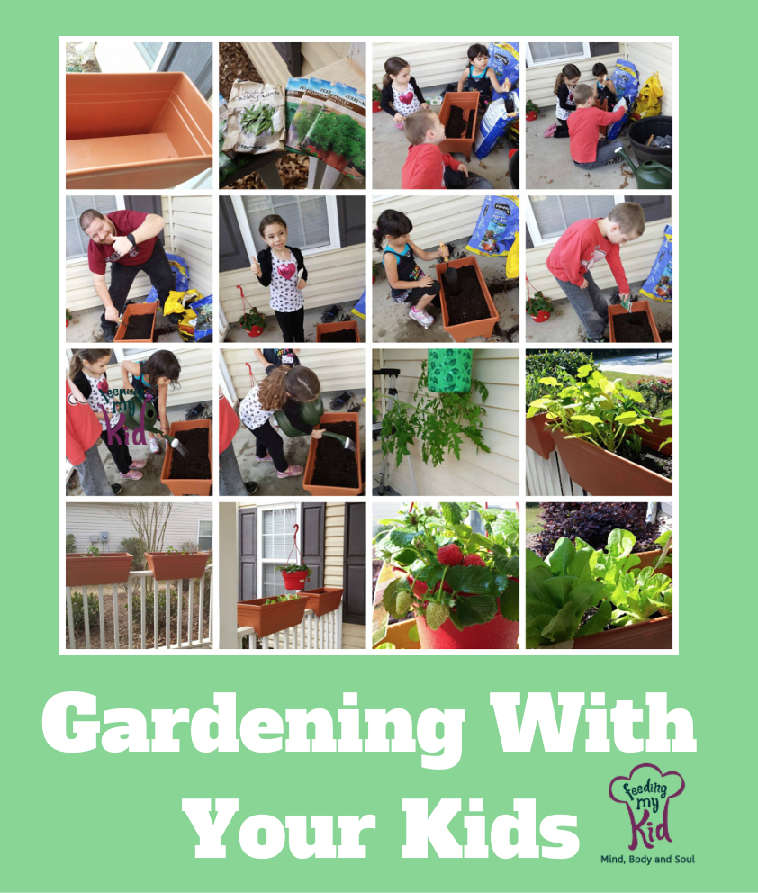 Gardening with kids is a great way to teach kids about food. It gives them independence and the confidence to try new foods. A great learning tool!