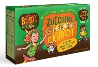 Smart Cookies Zucchini Gingerbread Carrot 2.12 Ounces (Case of 12)